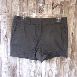 Ann Taylor LOFT Dark Khaki Shorts Size 2